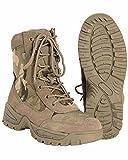 Mil-Tec Tactical Side Zip Stivali Nero Taglia 9 UK / 10 US