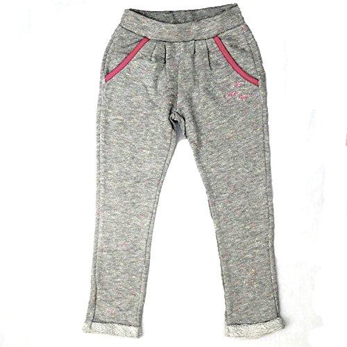 Pampolina - Jog Pants, Pantaloni sportivi per bambine e ragazze, grigio (hellgrau), 12 anni (152 cm)