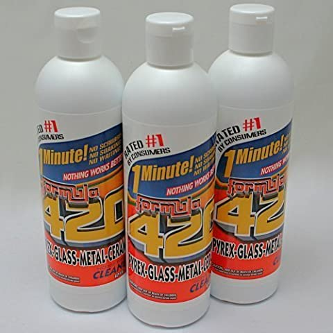 Formula 420 Glass Metal Ceramic Pipe Cleaner 12 Oz ((12 oz ea)) by Formula 409