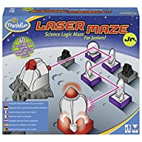 ThinkFun Laser Maze Junior (Class 1 Laser) Logic Game and STEM Toy