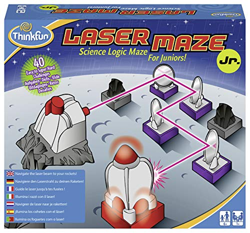 Ravensburger 76348 ThinkFun Laser Maze Junior Spiel - Smart Game