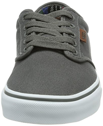 Vans M Atwood Deluxe, Baskets mode homme Noir (Pewter/Guatemala)