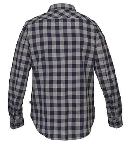 Fjällräven Övik Check Shirt Long Sleeve Men - Outdoorhemd red oak