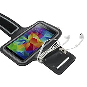 iProtect Sportarmband Samsung Galaxy S4 Running Case Laufarmband schwarz