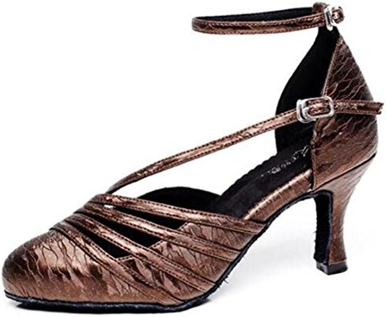 7daf3e9cb30593 XIE Donne Scarpe da ballo Taogo latino Danza Pompe Sandali Taglia 35To41,  EU35   Fashionable