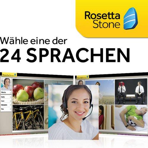 Rosetta Stone TOTALe, Online Zugriff für 3 Monate. Wählen Sie Ihre Sprache selbst.