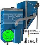 Pelletsheizkessel EKO-PE Compact 20 / 2 - 20 kW Behälter 540Liter