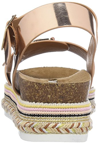 Maria Mare Alegra, Sandales Bout Ouvert Femme Or (Reflex Oro Rosa)