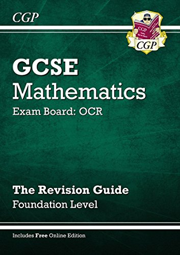 Download Gcse Maths Ocr Revision Guide With Online Edition