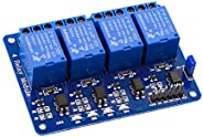 4 Channel Relay Module 5V with Light Coupling 5V for Raspberry PI For Arduino