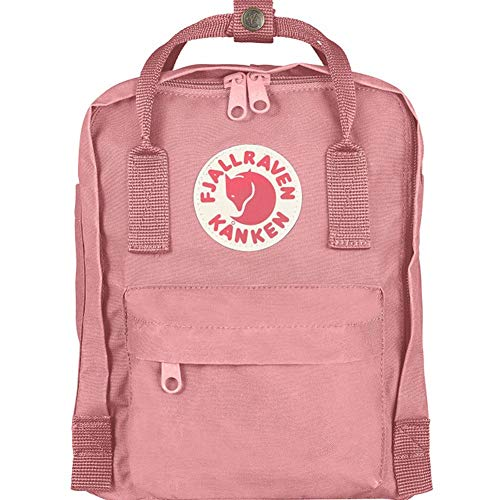 (VORSICHT MINI ! 7 LITER) Fjällräven Unisex Rucksack Kånken Mini, pink, 13 x 20 x 29 cm, 7 Liter, 23561-312
