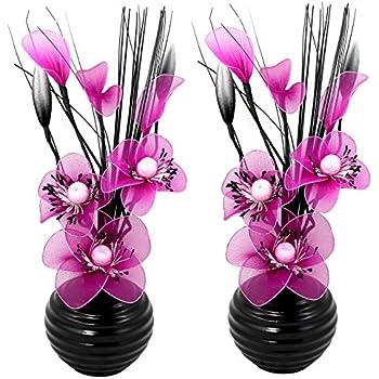 Gris Argent 32cm Flourish Creative Florals 5055278792725 Compositions florales artificielles