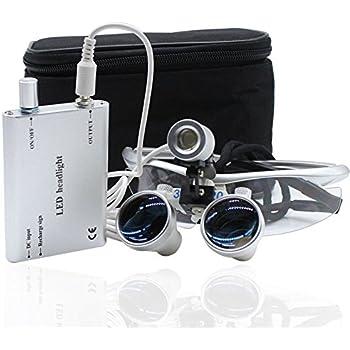 USB Wiederaufladbar Mighty Sight LED Lupenbrille 160/% Vergr/ö/ßerung
