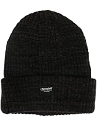 OCTAVE® Mens Melange Warm Thinsulate Thermal Lined Heavy Knit Winter Hat