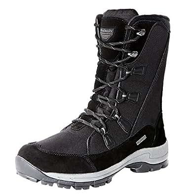 Roadmark Women Winter Snow Boot Insulated Waterproof Warm Cotton Shoes EU36 Black