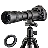JINTU 420-800mm F/8.3-16 TOP Full Frame Manual Focus Telephoto Zoom Lens for Nikon