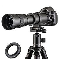 Jintu 420 - 800mm F / 8,3 - 16. Alta definición, teleobjetivo de enfoqu...