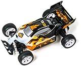 Top Raiders - Speed Flare Buggy con radiocontrol, color negro y naranja (Spectron TR0006)