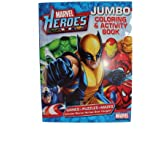 Marvel Heroes Jumbo Coloring & Activity Book