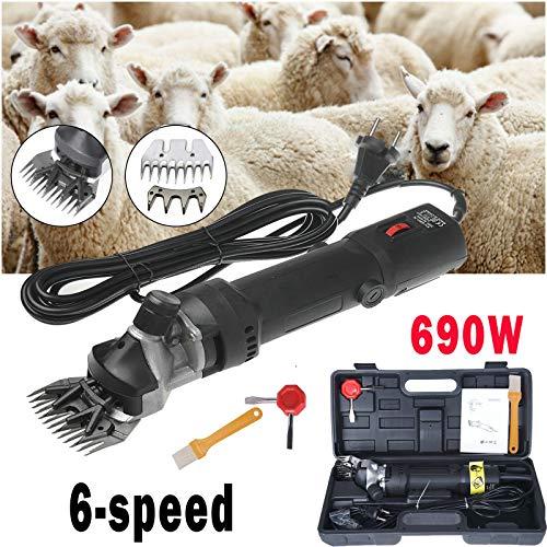 Sinbide 690W Tondeuse à Moutons Machine Tondeuse Electrique...