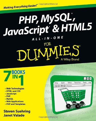 By Steve Suehring - PHP, MySQL, JavaScript & HTML5 All-in-one For Dummies