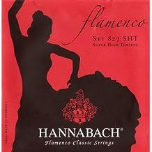 Hannabach 827 Serie Flamenco Classic - Cuerda de guitarra flamenca (tensión superalta)