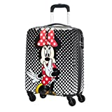 American Tourister Disney Spinner Handgepäck Koffer Trolley Spinner 55cm Minnie oder Mickey inkl. Kulturtasche (Minnie Polka Dot)