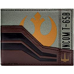 Cartera de Star Wars Force Awakens marrón