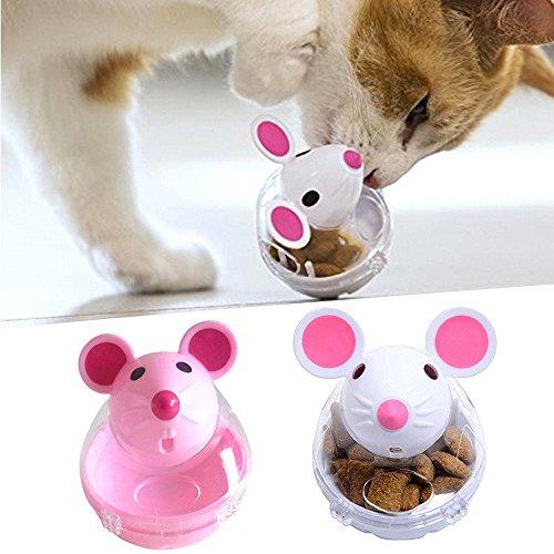 Gravitis 2018 - Comedero interactivo para gatos (ratón, alimentador lento)