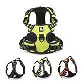 RunFar Free Move Hundegeschirr Multifunktions Geschirr für Hunde Reflektierende 3M-Nähte für bessere Sichtbarkeit in der Nacht