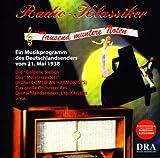 Programmansage in deutscher und englischer Sprache: Verabschiedung von den Horern in England und Fortfuhrung des Programms fur die Horer des Deutschlandsenders