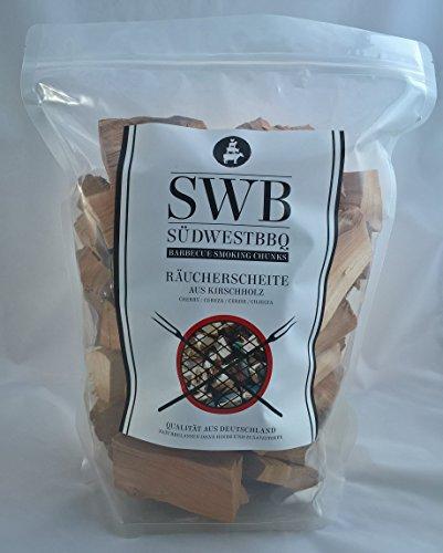 SWB Wood Smoking Chunks/ Räucherscheite Kirsche 1,5kg -