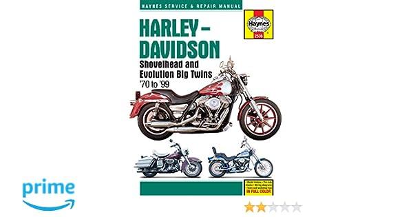 Haynes Handbuch 2536/703 Harley Davidson Shovelhead/Evolution ...