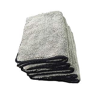 Dandeliondeme Super-Wasser-saugfähiges Tuch Microfiber-Auto-Selbstwäsche-Reinigungs-Waschlappen 30 cm x 40 cm Grey