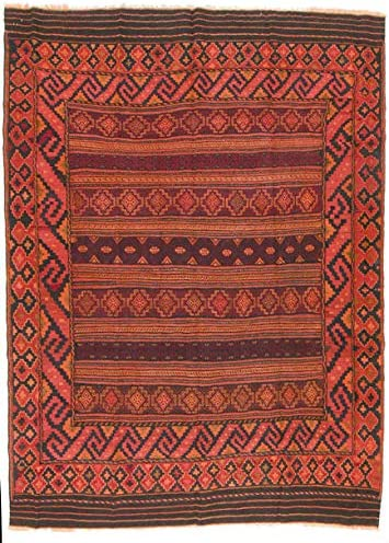 Trendcarpet Tappeto 269 Kilim Afghano 269 Tappeto x 195 cm 88551e