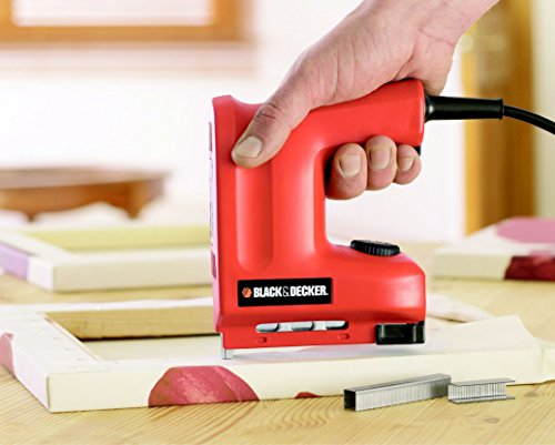 Elektro Tacker : Black+Decker Elektrotacker