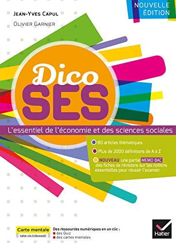 Dico SES - Dictionnaire d'économie et de sciences sociales par Jean-Yves Capul