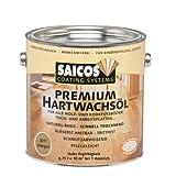 Saicos 3317 300 Eingefärbtes Premium Hartwachs Öl 0.75 l silbergrau [Werkzeug]