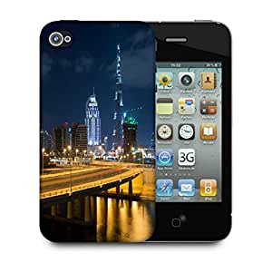 Snoogg Sealing Road Designer Protective Phone Back Case Cover for Apple iPhone 4