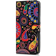 Huawei Mate 20 móvil, cuero PU Wallet Funda Flip Cartera Bookstyle Teléfono Móvil Funda Carcasa