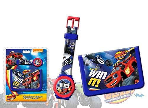 662c72d8f0 Blaze – Set Portafoglio + Orologio Digitale, Kids bl16018