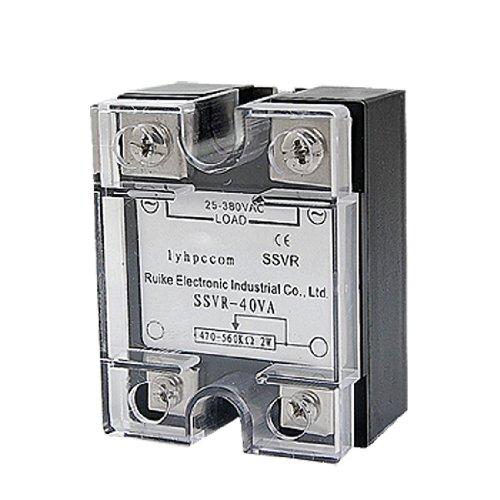 Macizo Relé Estado SSR Voltaje Resistencia Regulador : 0 / 25-380V AC