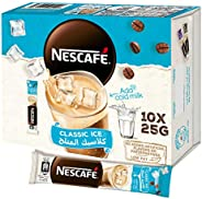 Nescafe Classic Ice Coffee Mix 25g Sachet (10 Sachets)
