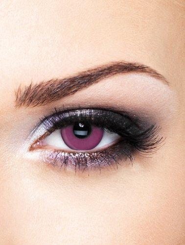 Edit farbige Violette Kontaktlinsen Crazy ohne Stärke
