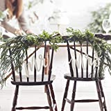Stuhldeko Hochzeit - Stuhlanhänger Holz Mr und Mrs