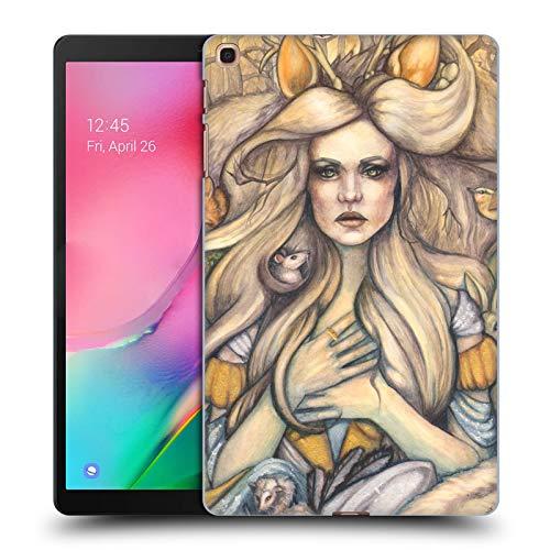 Head Case Designs Offizielle Tiffany Tito Toland-Scott Aschenputtel Mit Tiere Myth Harte Rueckseiten Huelle kompatibel mit Samsung Galaxy Tab A 10.1 (2019) -