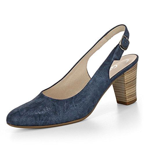 Gabor 42.260.36, Scarpe col tacco donna Blu (Jeans blu)