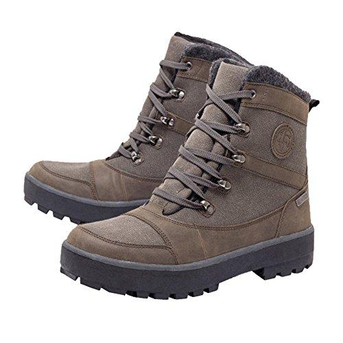 NEU HERREN CLOGS Leder Schuhe walkx men Lederdecksohle Gr. 45 grau Textilfutter