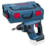 Bosch Professional Click&Go 0611905304 Perforateur sans-fil GBH 18 V-Li Compact Professional Solo, L-Boxx