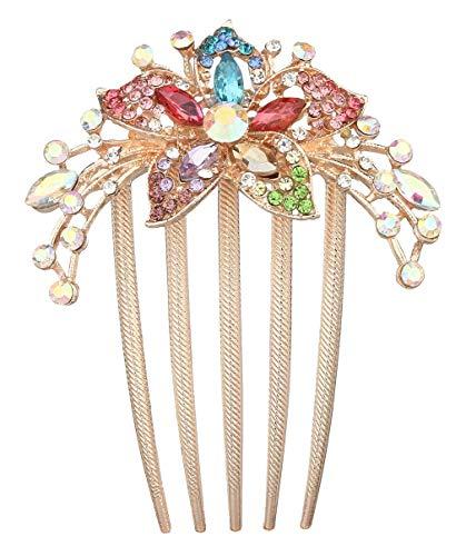 Elegante Snap (DEMU Braut Hochzeit Haarschmuck Haar Kamm Haarnadeln Kristall Haarklammer Elegant Haarclip)